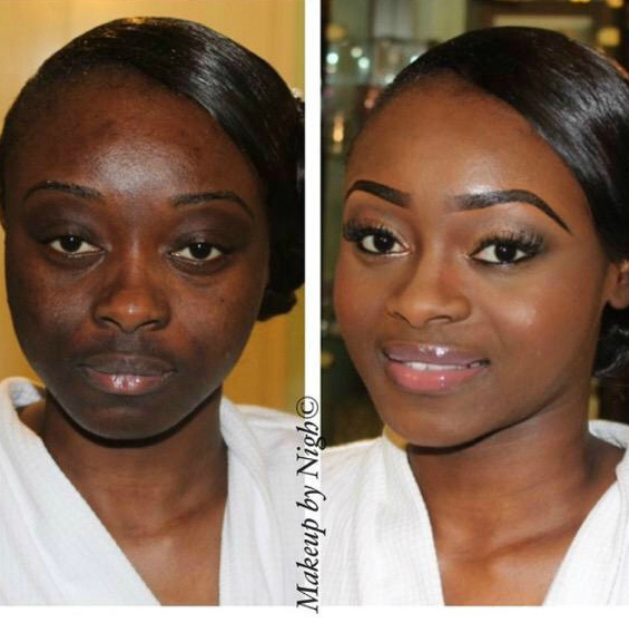 10 most shocking makeup transformations of all time 234star below are 10 of the most shocking beauty transformations by nigerian makeup artistes publicscrutiny Choice Image