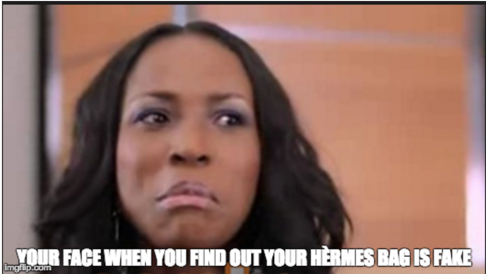 36ccdc53f91e How to Spot A Fake Hermes Bag – The Linda Ikeji Example