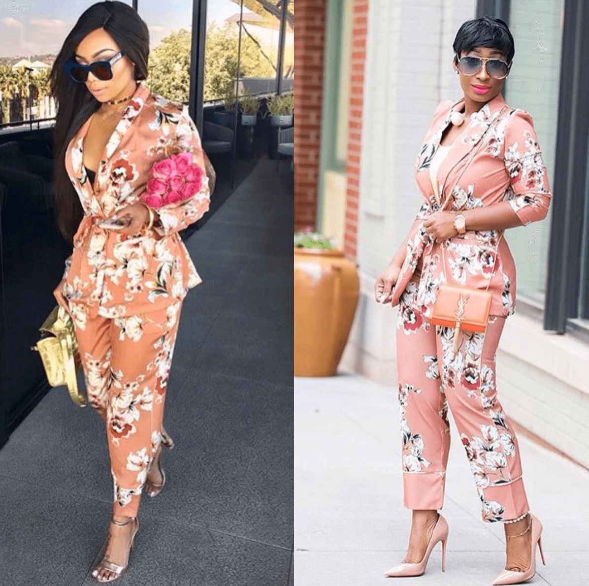 Who Wore It Better? Bonang Matheba Vs Chic Ama In Zara ...