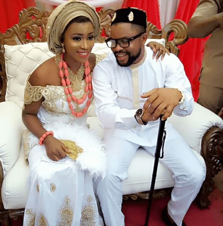 This Nigerian Lady Met And Married Her Husband Within A Month