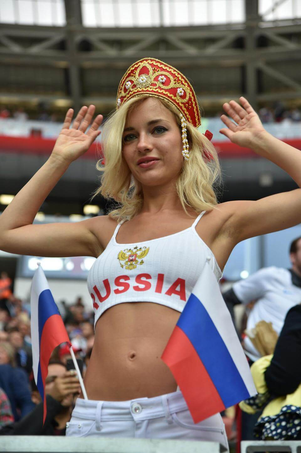 Female Fans Of Russia And Saudi Arabia Had Only One Thing -5233