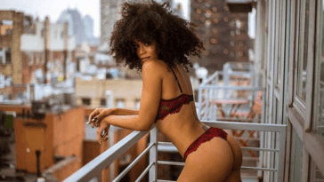 South African Lady Goes Completely Unclad To Celebrate