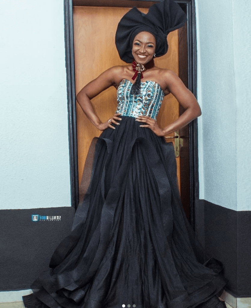 Kate Henshaw in Vogue Africaine