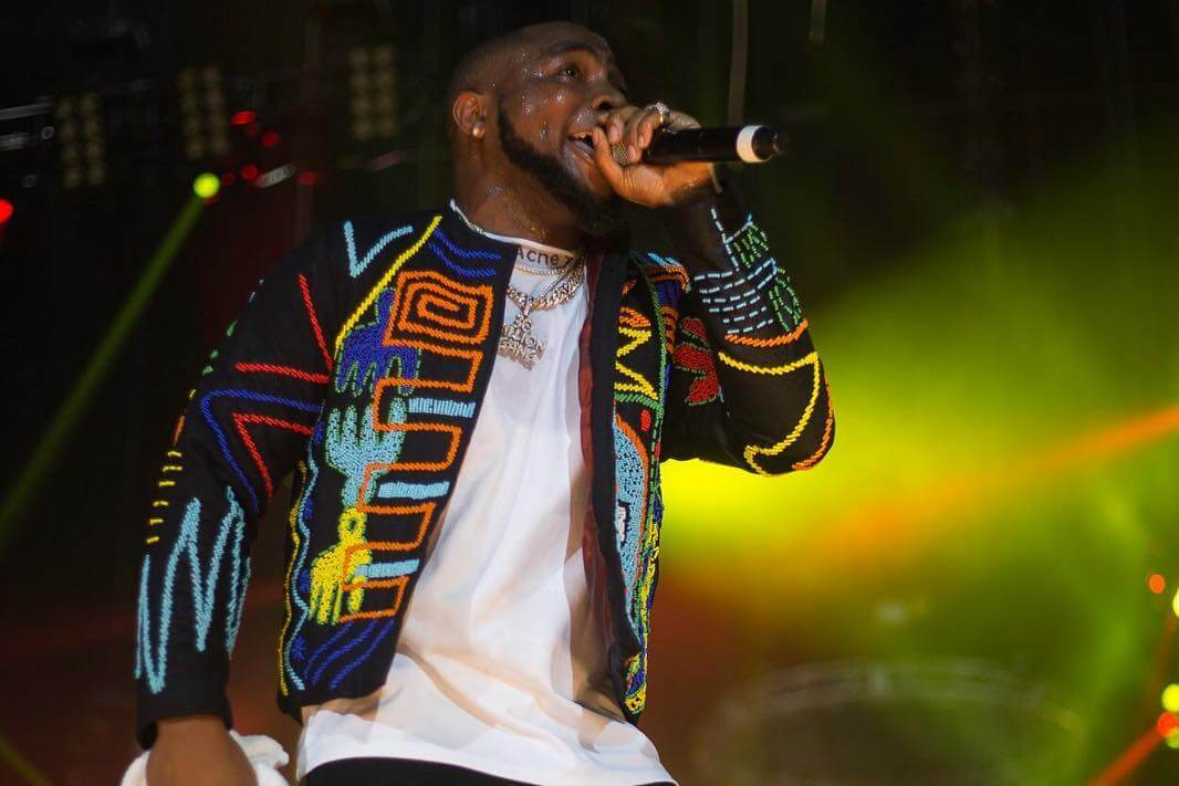 Davido's Okunoren Jacket For His O2 Concert Pays Tribute To
